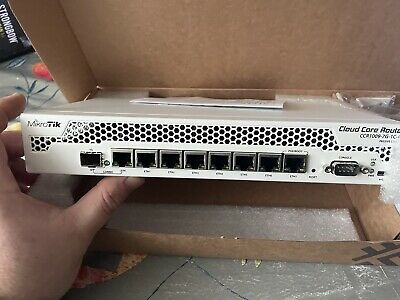 MIKROTIK CCR1009-7G-1C-PC Cloud Core Router 7xGbit Ethernet, 1xSFP/ETH Combo • 250£