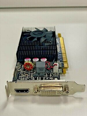GIGABYTE NVIDIA GeForce GT730 2GB DDR5 DVI/HDMI PCI-Express *LOW PROFILE ONLY*  • 34.25£