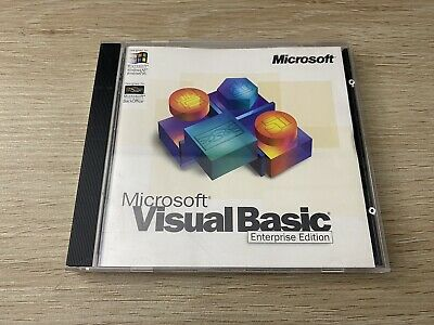 Microsoft Visual Basic 5.0 Enterprise Edition With CD Key • 13.86£