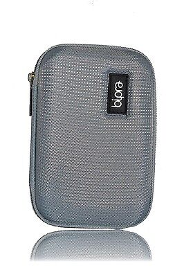 HDD Case Grey/Silver For 2.5 External Hard Drives • 5.99£
