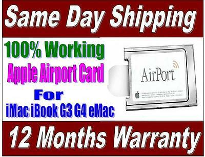 Apple Airport Wireless Card 802.11b ** For IMac IBook G3 G4 EMac • 7.99£