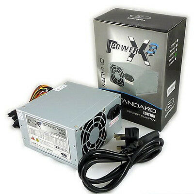 Sumvision Atx Pc Power Supply Unit Quiet / Silent Psu 500w With Sata  • 18.97£