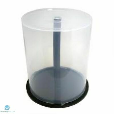 5x CD DVD & Blu-ray Cake Boxes - Empty Spindle - River Media (holds 100 Discs) • 12.99£