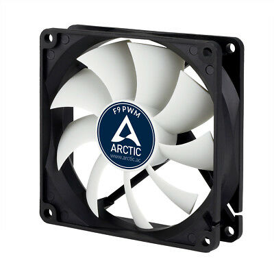 Arctic Cooling F9 PWM 90mm Case Fan Upto 1800 RPM (AFACO-090P2-GBA01) AC • 7.97£
