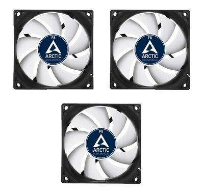 3 X Pack Of Arctic Cooling F8 80mm Case Fans 2000 RPM, 3 Pin  • 13.97£