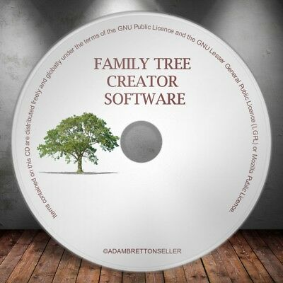 Family Tree Generator Creator Software - Genealogy Maker Software  • 1.93£