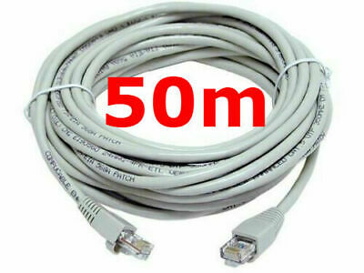 ✅next Day Delivery Ethernet Cable Rj45 Network Internet Lead Cat5e 10 - 30 Meter • 8.99£
