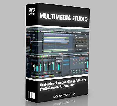 Music Production Studio Software - Multi Track Editing Mixing Recording • 3.45£