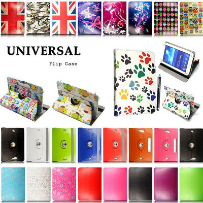 UK Universal Case For Samsung Galaxy Tab A A6 7  8  10.1  Tablet Leather Cover • 4.49£