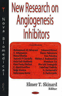 New Research On Angiogenesis Inhibitors By Nova Science Publishers Inc... • 62.10£