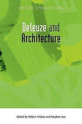 Deleuze And Architecture By Edinburgh University Press (Hardback, 2013) • 61.82£