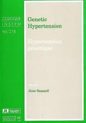 Genetic Hypertension By Jean Sassard (Paperback, 1992) • 61.89£