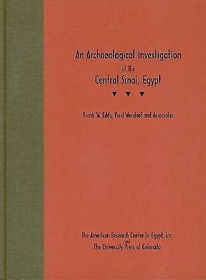 An Archaeological Investigation Of The Central Sinai, Egypt By Fred Wendorf,... • 55.62£