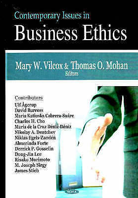 Contemporary Issues In Business Ethics By Nova Science Publishers Inc... • 48.35£