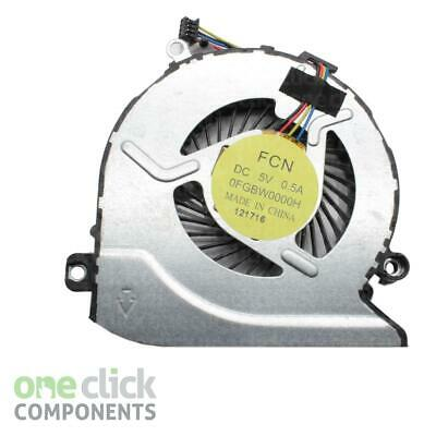 New Replacement CPU Cooling Fan 812109-001 For HP Pavilion15-ab254sa N7K30EA#ABU • 14.49£