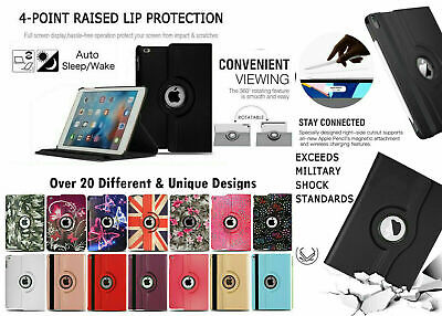 New Smart Stand Leather Magnetic Case Cover For Apple IPad 4 3 2 Mini Air 2 Pro • 4.95£