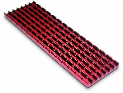 Gelid Solutions SubZero M.2 SSD 2280 Heatsink Thermal Pad Cooling Kit In Red • 10.47£
