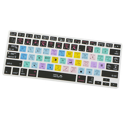 Shortcut Hotkey Silicone Keyboard Skin Cover For Macbook Pro Air 13 15 17#1 • 3.94£