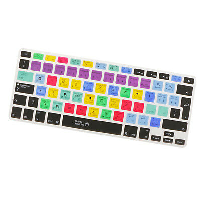 Shortcut Hotkey Silicone Keyboard Skin Cover For Macbook Pro Air 13 15 17#3 • 4.66£