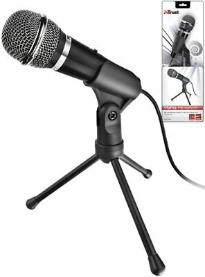 Trust Starzz Microphone For PC And Laptop Tripod With Foldable Stand Tripod • 16.02£