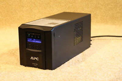 APC SMT 750 Tower (Black) With LCD Screen --brand New Batteries-- 12m RTB Wty. • 100.94£