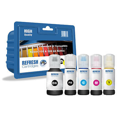 Refresh Cartridges Value Pack 105 Ink Compatible With Epson Printers • 24.27£