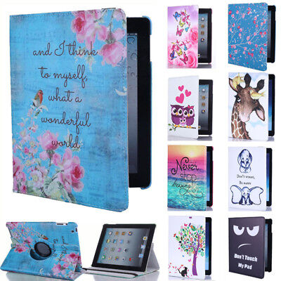 For Samsung Galaxy Tab A 2016/2019 10.1 Case Stand Rotating Cover T510/T580/T585 • 8.95£