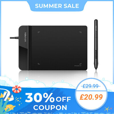 XP-PEN G430s 4x3  Art Drawing Tablet Graphics Tablet Signature Osu 8192 Levles • 26.99£