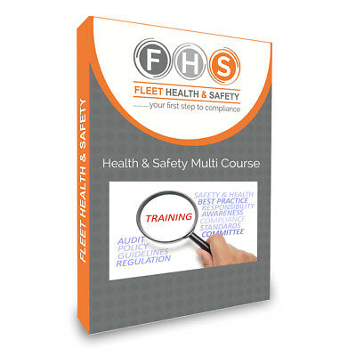 Workplace Safety X 10 Training Courses Incl Manual Handling, Fire , COSHH (USB) • 39£