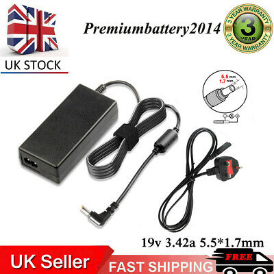 For Acer ASPIRE 5315 5551 5742 5750 5315 5735 Laptop Charger Power Supply UK  • 9.99£