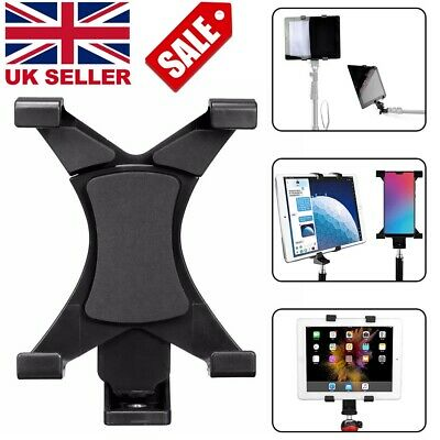 Tripod Mount Holder Bracket 1/4'' Thread Adapter For 7''~10.1'' IPad Mini Tablet • 6.49£