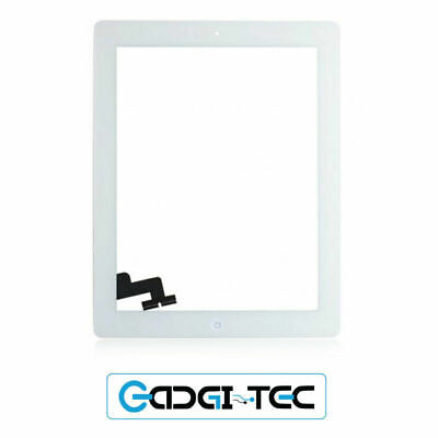 IPad 2 White Premium Quality Front Glass Touch Screen Digitizer • 19.99£