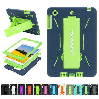 Shockproof Protective Case Kids Heavy Duty Stand Cover For IPad 2 3 4 Mini Air 2 • 8.79£