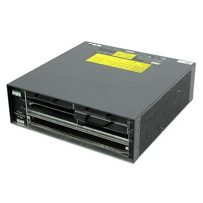 Cisco 7200 Series VXR Router Chassis With 2x Power Supplies & Warranty • 59.98£