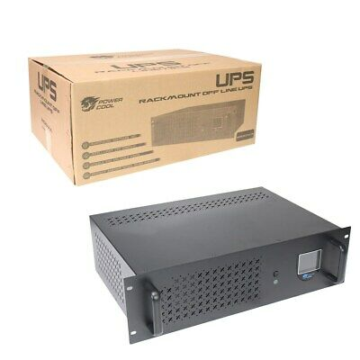 Powercool Rack-Mount Off-Line 1200VA UPS With LCD & USB Monitoring • 139.97£