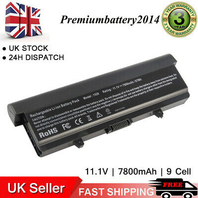 9Cell Battery For Dell Inspiron 1525 1526 1545 1546 GP952 Vostro 500 M911G GW240 • 14.99£