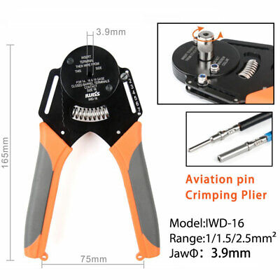 IWD-16 Crimping Pliers Crimper For DT DTM DTP Terminal Connector Wire Clamp • 30.61£
