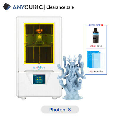 ANYCUBIC Photon UV Photocuring 3D Printer, Ultra Precision Off-line Print Resin • 189.24£