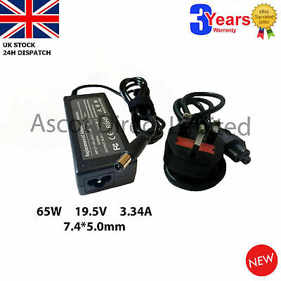 GENUINE Laptop Power Adapter Charger Dell Inspiron 1545 + UK POWER CORD • 13.95£