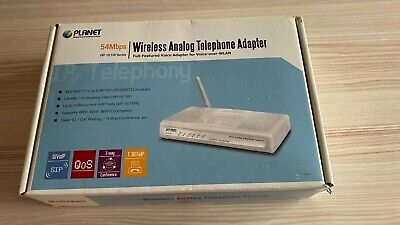 Planet VIP-161W 2.4GHz Wireless Analog Telephone Adapter • 35£