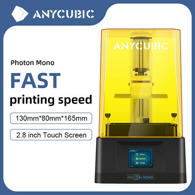ANYCUBIC SLA Photon 3D Printer Fast Light-Cure FEP Frame 2.8 TFT 2K LCD UV Resin • 228£