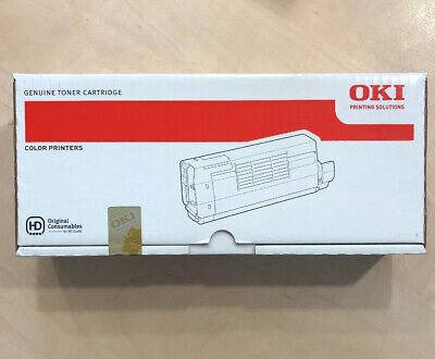 Genuine OKI TONER CARTRIDGE 44318657 WHITE £265 + VAT • 318£