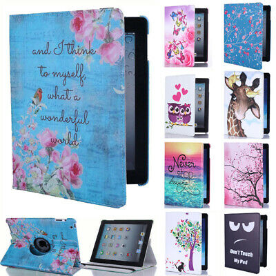 For Apple IPad 7 2019 7th Generation 10.2-inch Smart Case 360° Rotating Cover • 10.95£