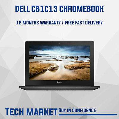 Refurbished 11.6  Dell Chromebook 3120 With Chrome Os Webcam Hdmi Notebook • 139.99£