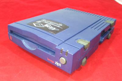 100MB Parallel Port Zip Drive External Used Inc PSU & Cable • 69£