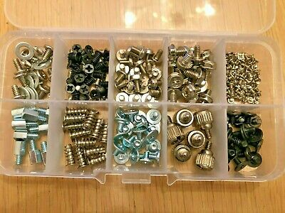 238pcs Computer PC Screws Kit For Motherboard Case Fan CD-ROM Hard Disk Notebook • 6.50£