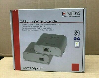 Lindy CAT5 FireWire Extender (Up To 75m)  • 249£