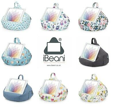 IBeani® IPad And Tablet Stand/Bean Bag Cushion Holder For All Devices Gift Boxed • 19.99£