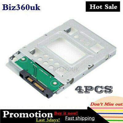 4X For HP 2.5 SSD To 3.5 SATA Adapter Converter Tray SAS HDD Brackets Bay 654540 • 35.92£