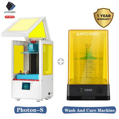 ANYCUBIC 3D Printer SLA Photon | Photon S | Photon Zero Light Cure FEP UV Resin • 369£